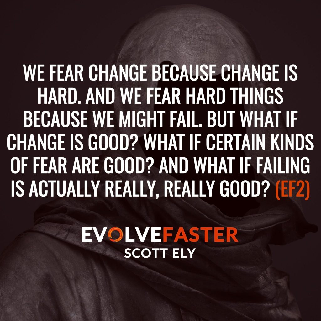(EF2) Intro: Life is a Near Death Experience Welcome to The Evolve Faster Podcast The Evolve Faster Podcast with Scott Ely